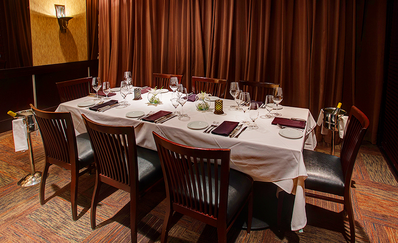half room capacity 15 22 - Private Dining Rooms